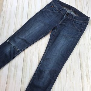 Hudson Collin Skinny Jeans Size 26
